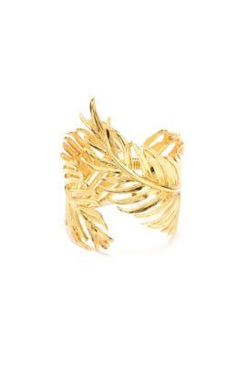 Palm Leaf Bracelet by Oscar de la Renta