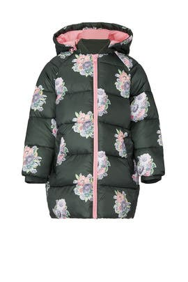 Kids Floral Puff Coat by Stella McCartney Kids