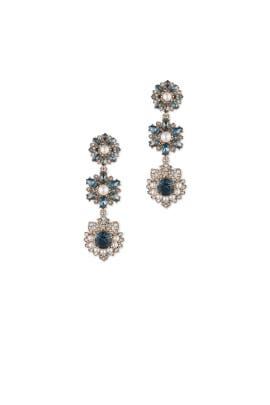 Crystal Kensington Earrings by Marchesa Jewelry