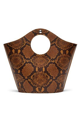 Small Canary Market Shopper Bag by Elizabeth and James Accessories
