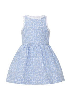 Kids Tori Eyelet Dress by Lilly Pulitzer Kids