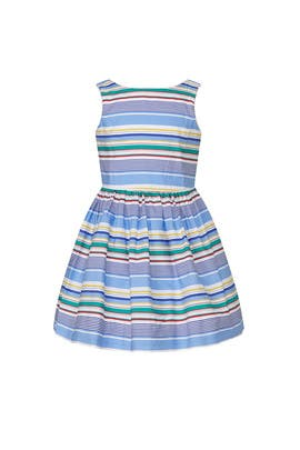 Kids Multi Striped Dress by Ralph Lauren Kids