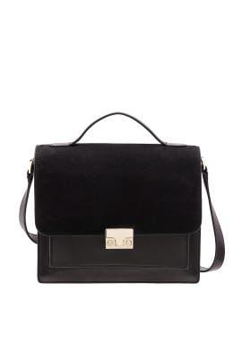 Black Minimal Rider Bag by Loeffler Randall