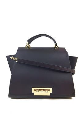Navy Eartha Bag by ZAC Zac Posen Handbags