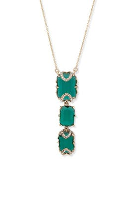 Emerald City Stone Necklace by Jenny Packham