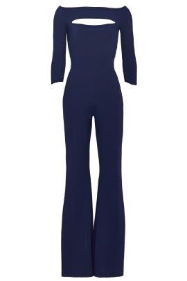 Navy Katiuscia Jumpsuit by La Petite Robe di Chiara Boni