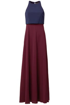 Color Code Gown by Jill Jill Stuart