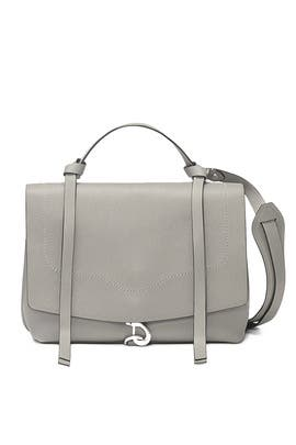 Grey Stella Satchel by Rebecca Minkoff Accessories