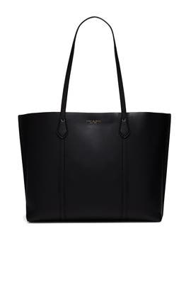Jet Black Perry Tote by Tory Burch Accessories