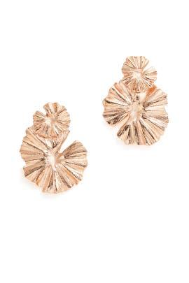 Wildflower Earrings by Oscar de la Renta