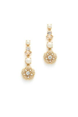 Posy Petals Linear Earrings by kate spade new york accessories