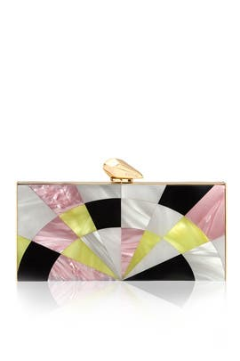 Pink Levin Clutch by Kotur