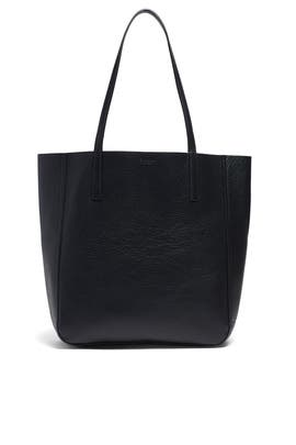 Black Medium Shopper Tote by Shinola