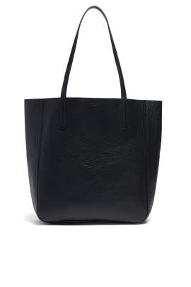 0fcc406e3330b9 Black Medium Shopper Tote by Shinola