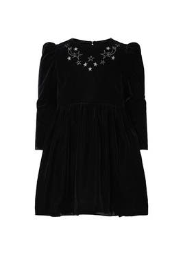 Kids Party Velvet Dress by Stella McCartney Kids