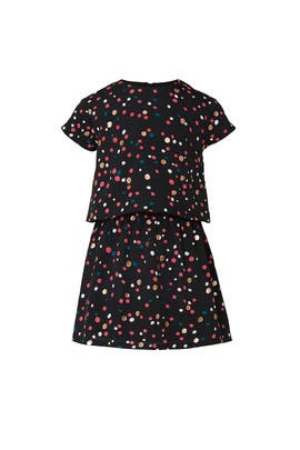 Kids Woven Confetti Dress by DVF x Rockets of Awesome Kids