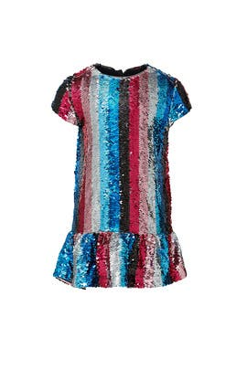Kids Striped Sequin Dress by DVF x Rockets of Awesome Kids