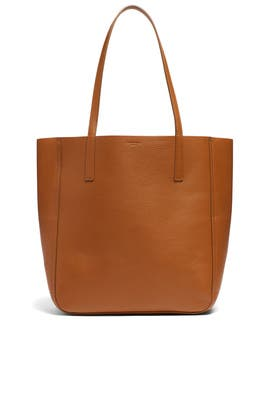 Cognac Medium Shopper Tote by Shinola