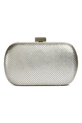 Silver Lattice Clutch by Whiting & Davis