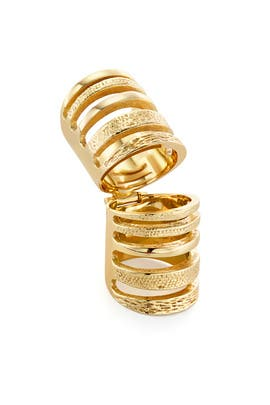 Double Cage Ring by Pamela Love