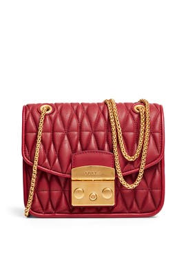 Quilted Metropolis Mini Bag by Furla