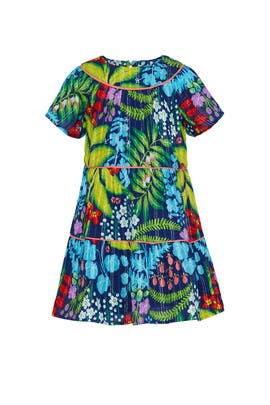 Kids Dalia Printed Ric Rac Dress by Crewcuts by J.Crew