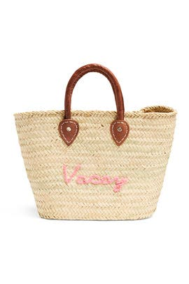 Le Superette Straw Tote by Poolside