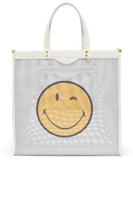 Wink Mesh Tote by Anya Hindmarch