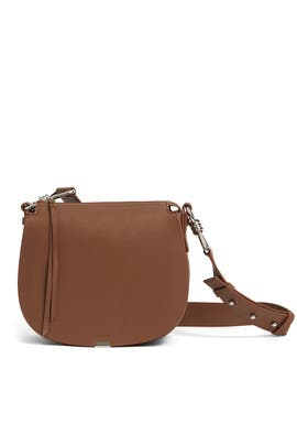 Captain Leather Round Crossbody by AllSaints