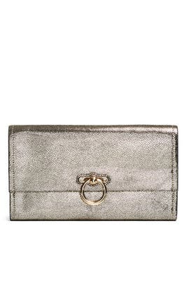 Gold Jean Clutch by Rebecca Minkoff Accessories
