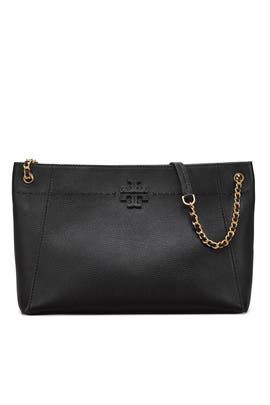 c7f783a5ab8a Jet Black Perry Tote by Tory Burch Accessories for  55