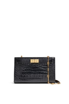 Lee Radziwill Embossed Clutch by Tory Burch Accessories