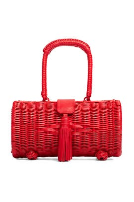 Clarissa Wicker Bag by Cleobella Handbags