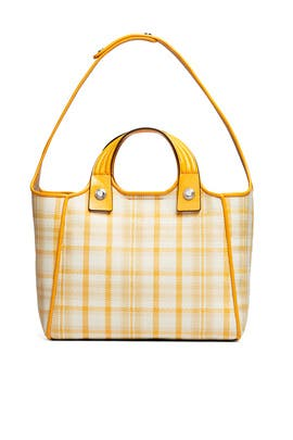 Rory Plaid Mini Tote by Tory Burch Accessories
