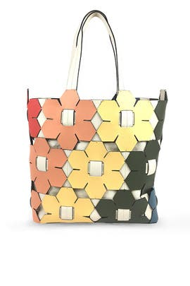 Eartha Hex Floral Tote by ZAC Zac Posen Handbags