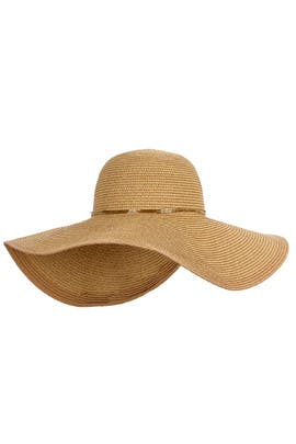 Straw Floppy Hat by Echo Accessories