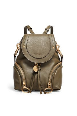 Green Olga Backpack by See by Chloe Accessories