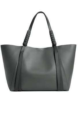 Smoky Blue Voltaire Tote by AllSaints