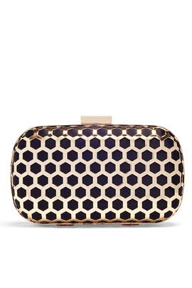 Black Palermo Minaudiere by Inge Christopher