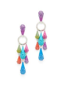 Candy Raindrop Earrings by Sarah Magid