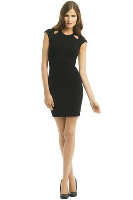 Gala Cutout Sheath by Helmut Lang