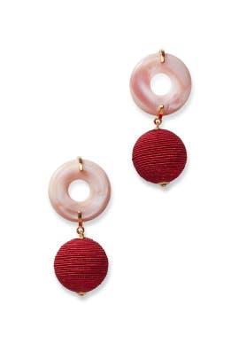 Saffron Drop Earrings by Lizzie Fortunato