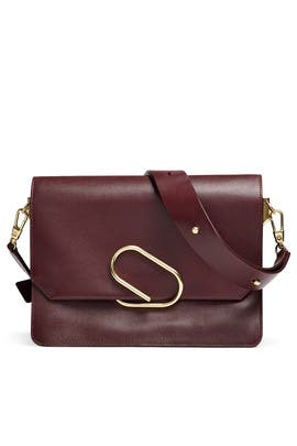Bordeaux Alix Shoulder Bag by 3.1 Phillip Lim Accessories