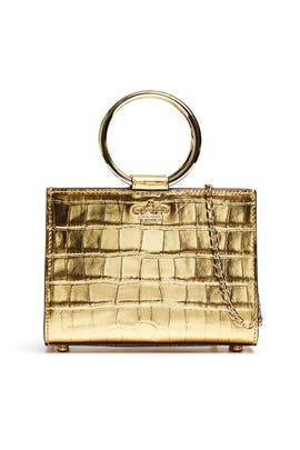 Warm Gold Mini Sam Bag by kate spade new york accessories