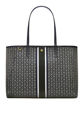 c02b60e2ebe3 Black Gemini Link Tote by Tory Burch Accessories for $30 | Rent the ...