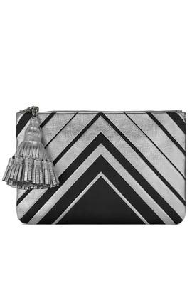 Diamond Georgiana Clutch by Anya Hindmarch