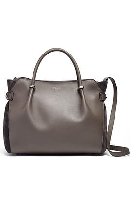 Grey Marche Satchel by Nina Ricci Accessories