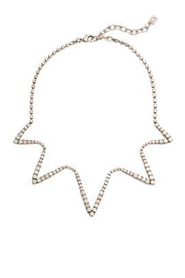 Crystal Lotus Collar Necklace by Dannijo