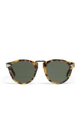 Crazy Tort Helter Skelter Sunglasses by Karen Walker