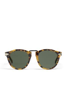 Crazy Tort Helter Skelter Sunglasses by Karen Walker